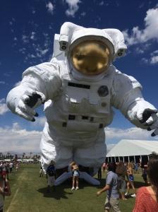 Art installation at Coachella