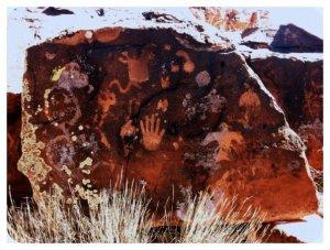 Gran Quivira Pueblo Petrogylphs