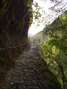 Eagle Creek trail to Tunnel Falls