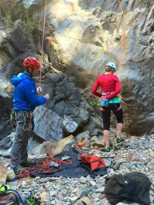 Peak Mountains Guides climbing
